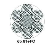 6×61類圓股鋼絲繩(ZS0304)